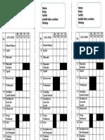 Checklist Text Book f5