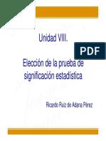 unidad8elecciondelapruebadesignificacionestadistica-120323110220-phpapp01