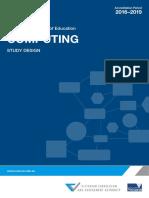 VCE - IT Study Design 2016
