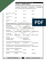 Scholar Ship Entrance Exam 2016 Sample Paper 8th Std
