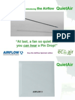 Introducing the Airflow QuietAir range and Main Features