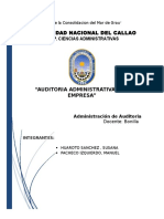 Auditoria Administrativa