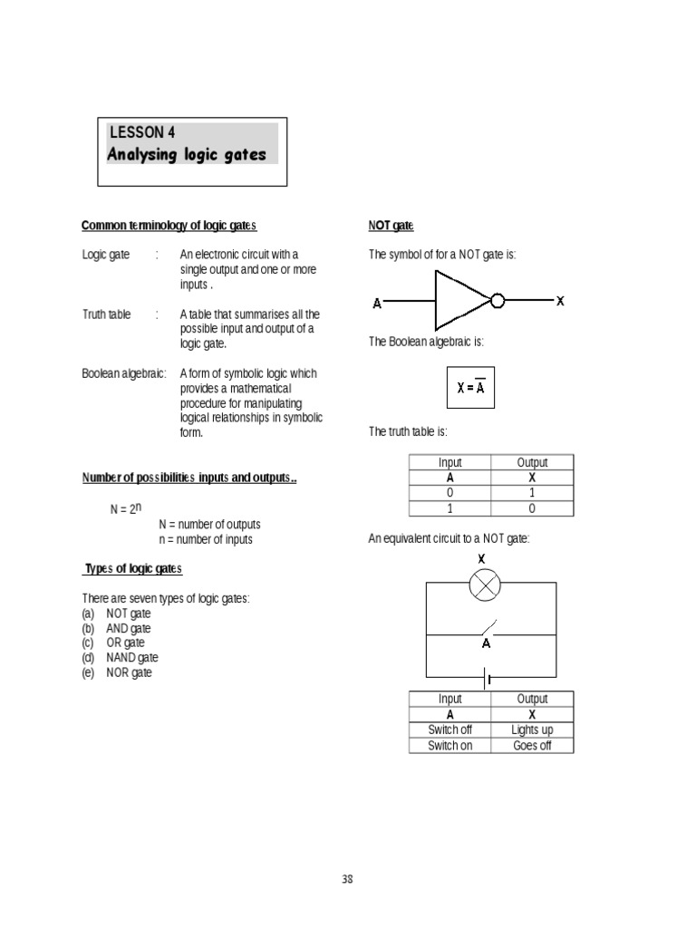 Lesson 94 Logic Gate Electronic Circuits Circuit Into An Or