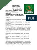 AMISOM holds Civilian-Military coordination workshop for Hiiraan region