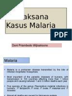 Tatalaksana Malaria
