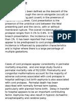 Umbilical Cord Prolapse 6