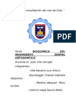 Bioquimica Del Movimiento Dental Ortodontico