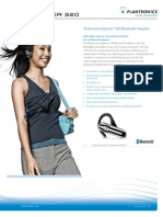 Folleto Plantronics 320