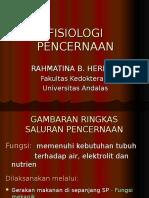 Fisiologi Pencernaan - PBL