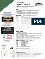 Newsletter Term 2 Week 1