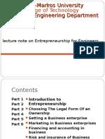 Enterprenuership for for Engineers (1)
