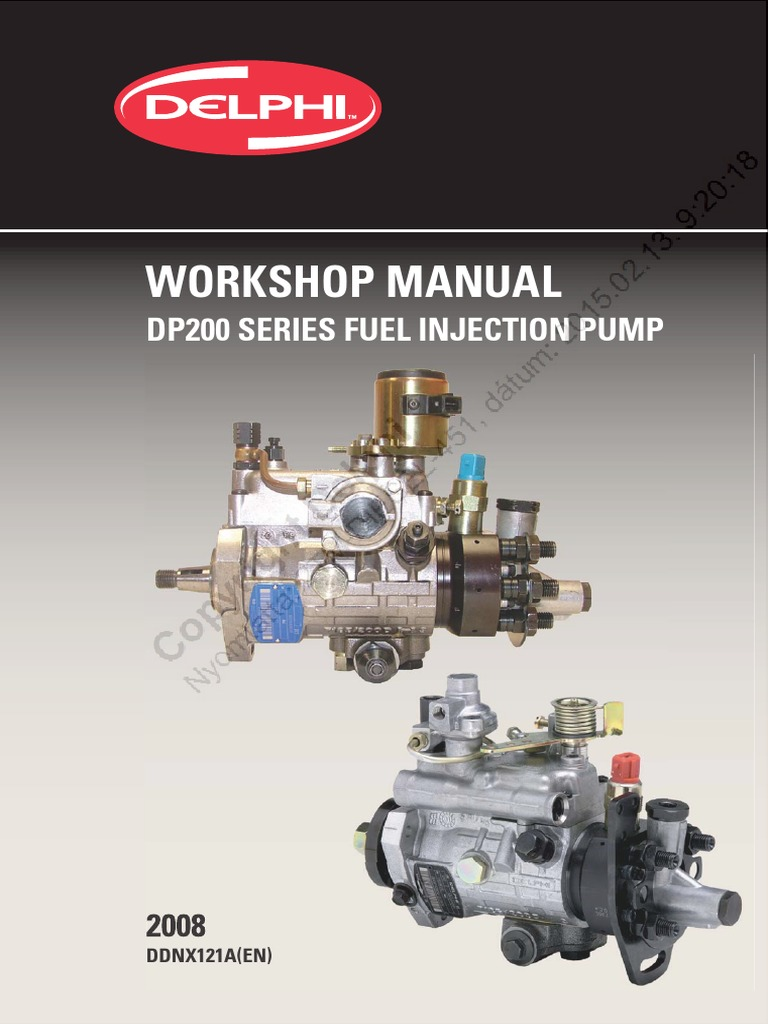 Workshop manual dp200pdf pump valve fandeluxe Images