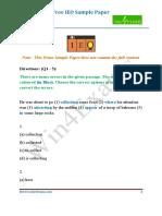 1037Demo Sample Paper