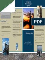 Ocean Engineering Brochure for Grad Students