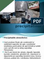 Forma Precipitatiilor
