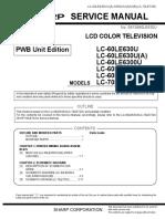 Sharp Lc-60 Le 630 U-A_lc-60 Le 6300 U-A-b_lc-70 Le 735 U_pwb_unit_edition