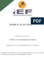 Certificado Curso IEF