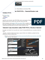 Como Descobrir Senha WiFi WPA - Tutorial Hacker Rede Wireless WPA