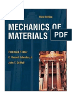 Solutions Mechanics of Materials 3rd Edition by Ferdinand p Beer