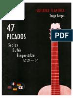 Jorge Berges, 47 Picados Guitarra Flamenca [Flamenco](Libro)