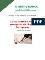 Curso Nova Ortografia da Língua Portuguesa