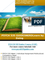 PSYCH 535 GUIDES Learn by Doing/psych535guides.com
