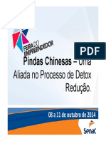 Pindas Chinesas - Uma Aliada No Processo de Detox Redução