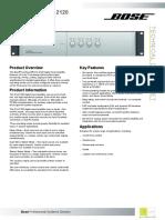 Bose Tds Fs Dxa 2120 Digital Mixer Amplifier