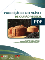 Cartilha Producao Sustentavel de Carvao Vegetal