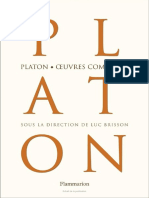 Platon Oeuvres Completes