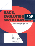 JP Rushton - Race, Evolution, & Behavior - Unabridged 1997 Edition