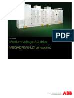 Medium voltage AC drive MEGADRIVE-LCI air-cooled