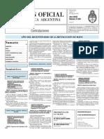 Boletin Oficial 11-05-10 - Tercera Seccion