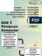 Accounting Inf. Syst. - Ch. 5 Computer Fraud