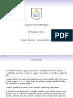 1-Complex Numbers - Coddmplex Arithmetic