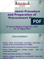 Annex v - Procurement Procedure