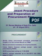 Annex v - Procurement Procedure