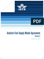 IATA - Aviation Fuel Supply Model Agreement 2009