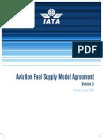 IATA - Aviation Fuel Supply Model Agreement 2009