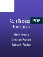 Emergency Respiratory Gla UK