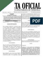 Gaceta Oficial Extraordinaria N° 6.226 - Notilogía