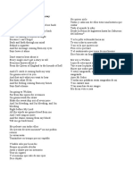 Canciones 3eros