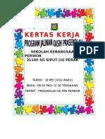 KERTAS KERJA Jalinan Kasih