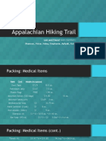 appalachian hiking trail