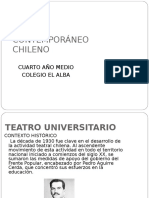 Teatro Contemporáneo Chileno