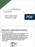 Teatro Contemporáneo Chileno