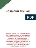 hormonii sexuali