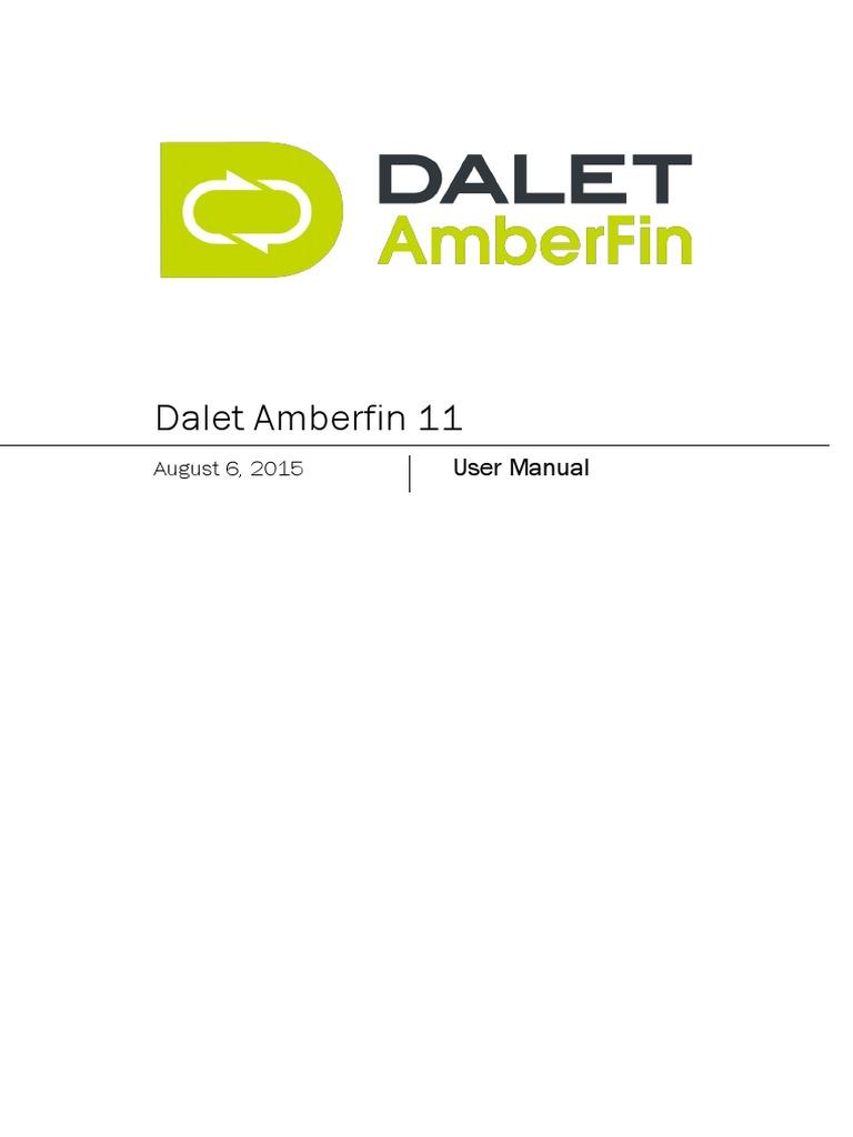 Amberfin 11 User Manual   Multimedia   Redes sociales y