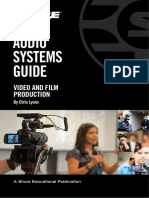 Audio Systems Guide for Video and Film Production