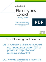 Cost Planning n Control Cpd-2015016k